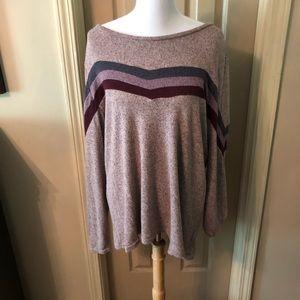 Maurice's striped sweater size XXL